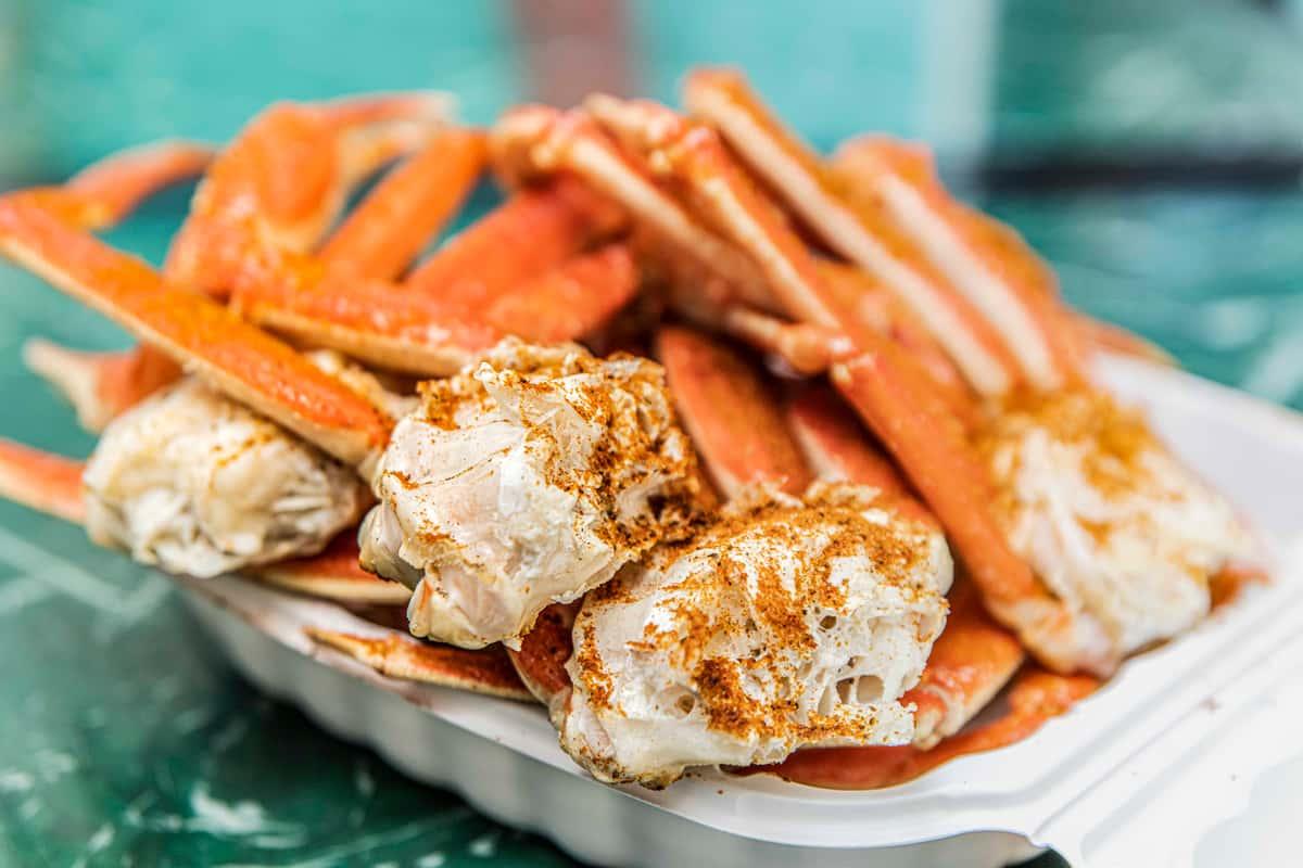 snow crabs