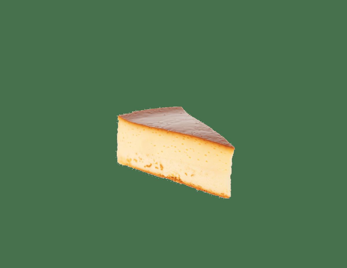 Slice Flan Cheesecake