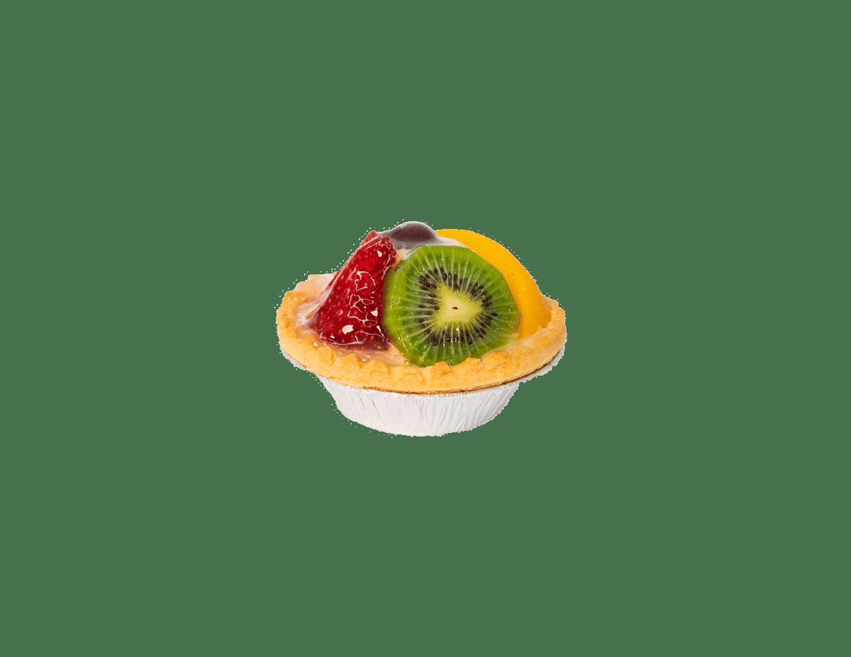 Fruit Tart with Custard