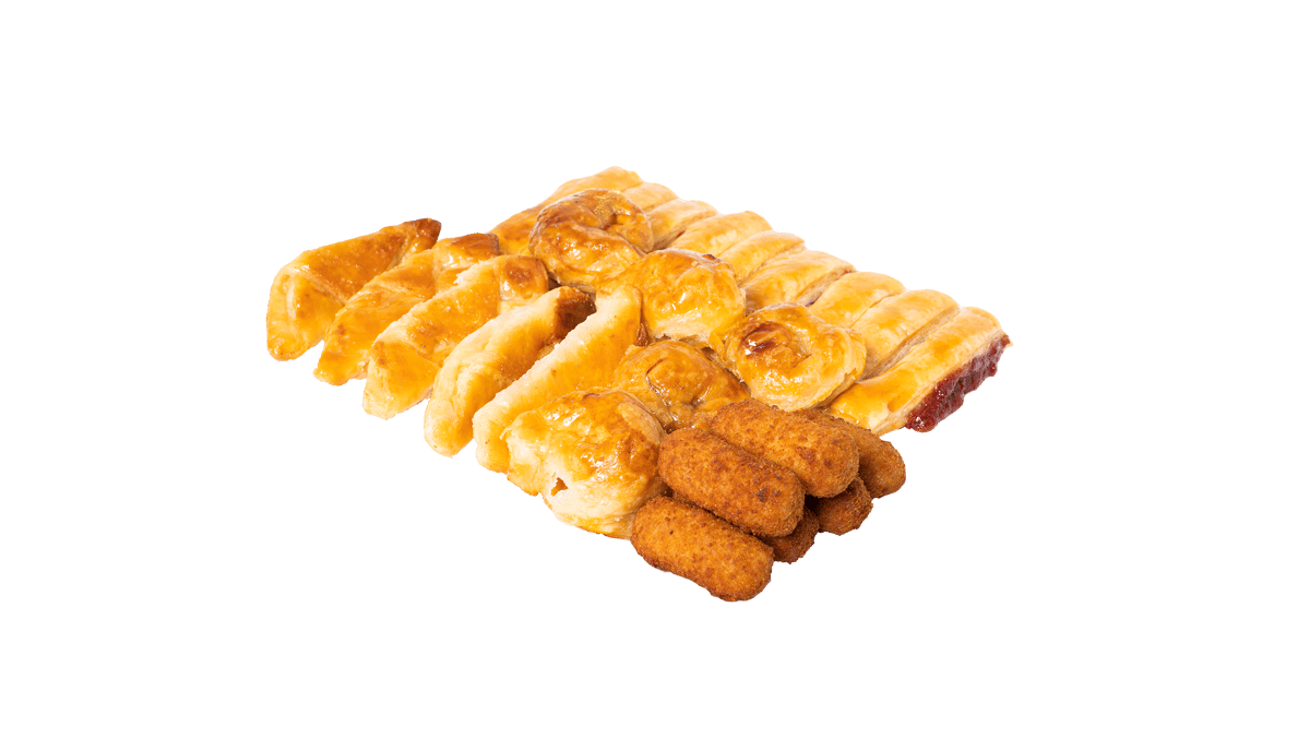 Assorted with Croquettes