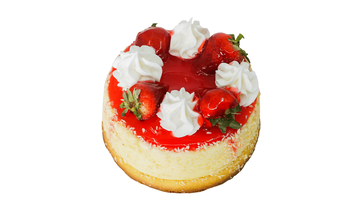 Cheese Cake Strawberry serves (6-8 ppl)