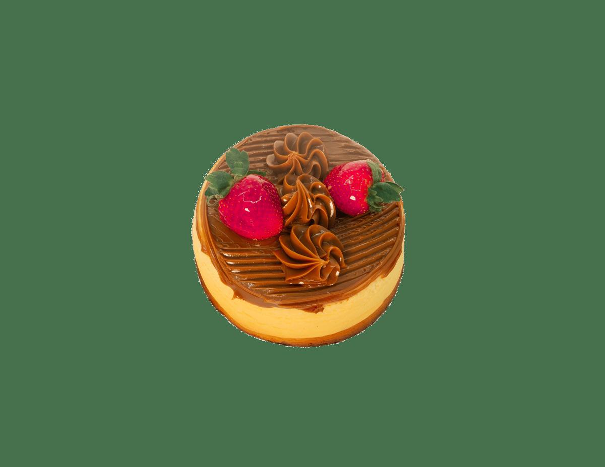 Cheese Cake Dulce De Leche (6-8 ppl)