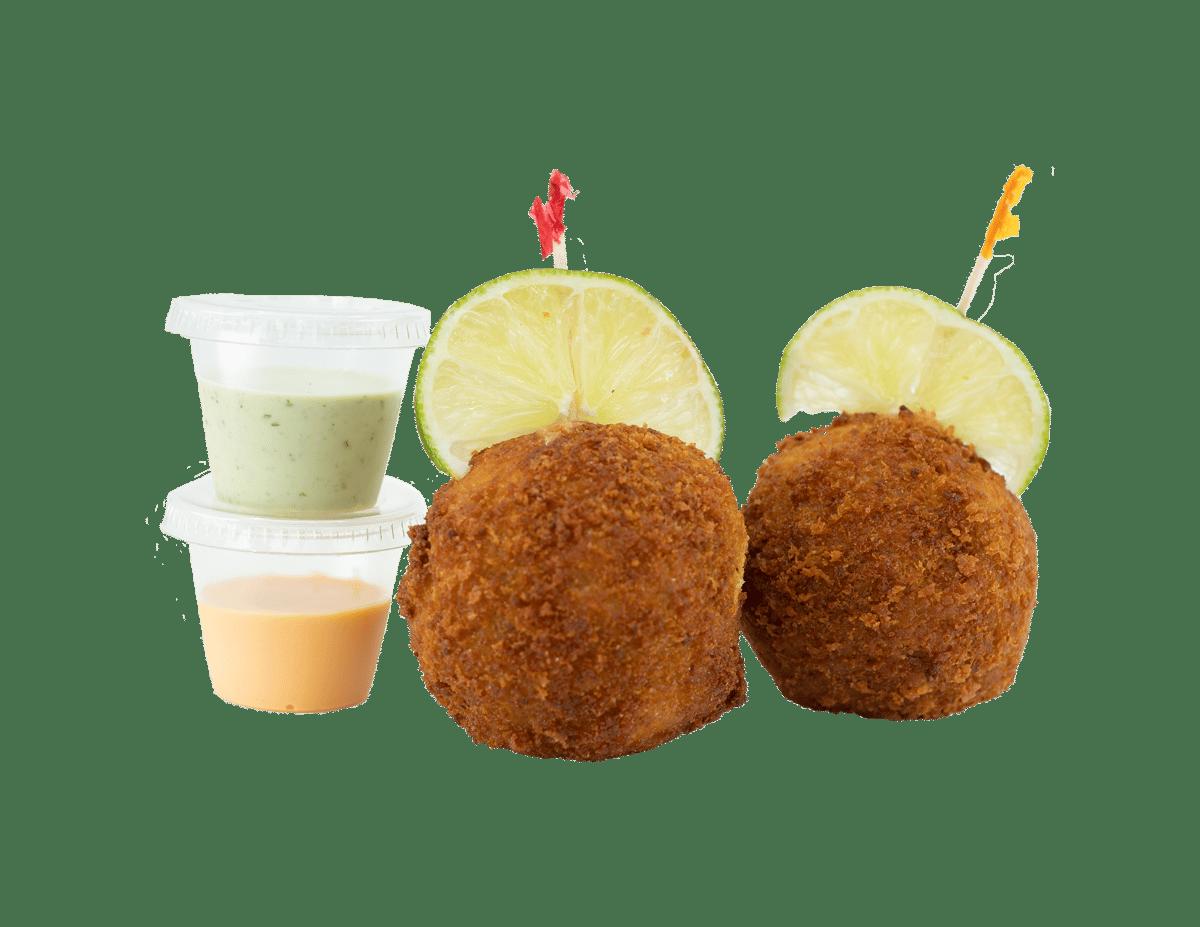 Arroz Con Pollo Bites