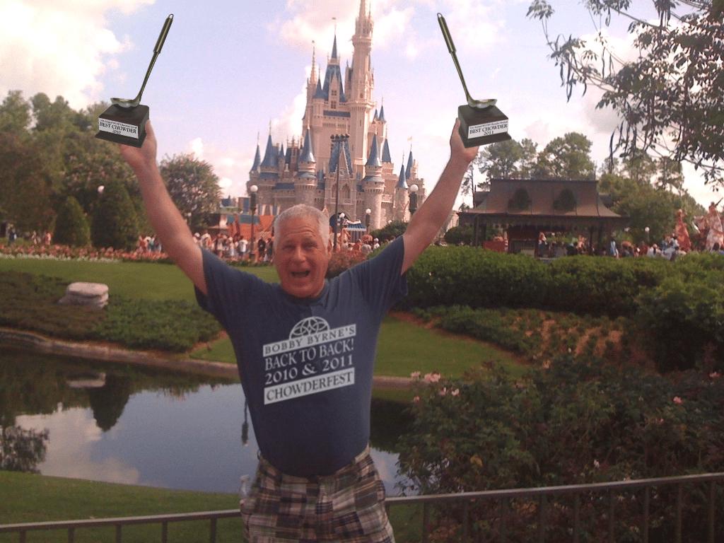 celebrating at Disneyland