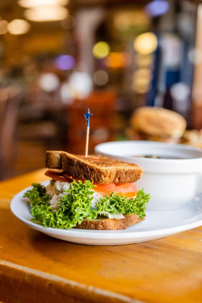 1/2 Tuna Salad Sandwich