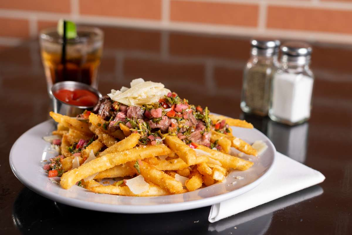 *Bistro Filet and Chimichurri Fries