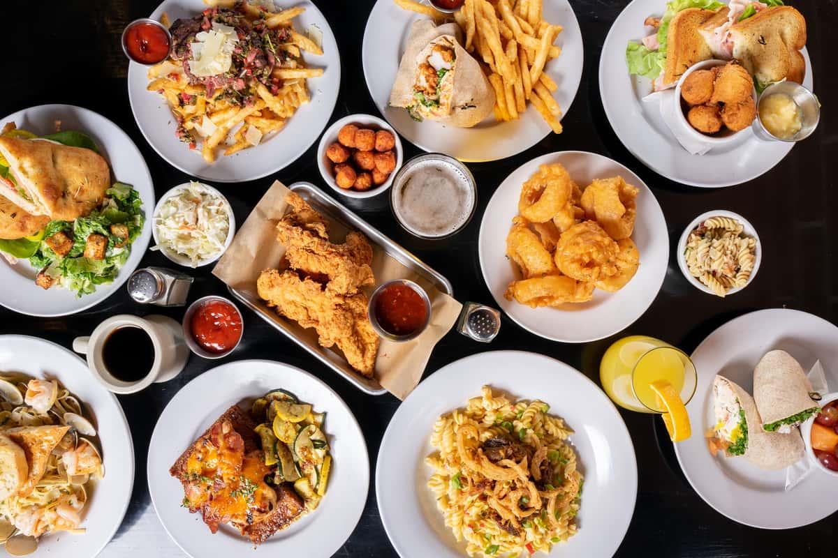 assorted food