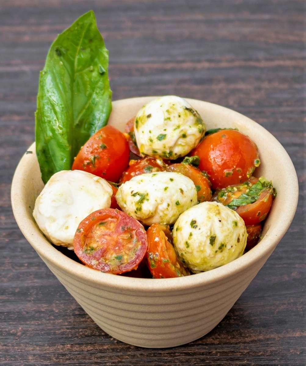 Pesto Caprese Salad