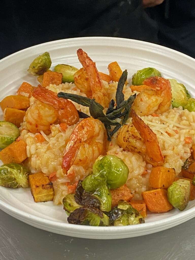 Calabrian Shrimp Risotto