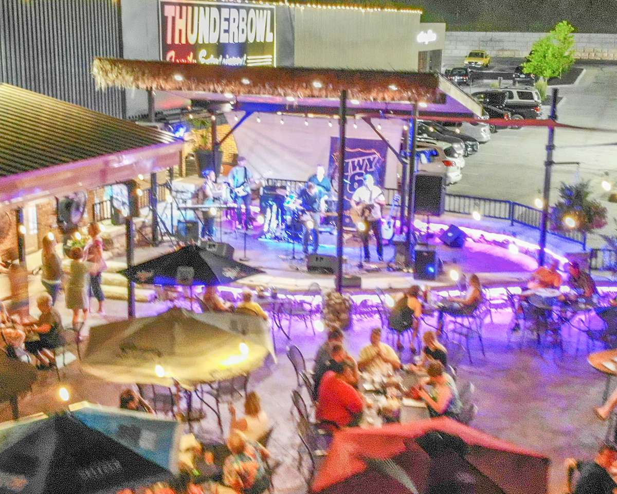 Band Night on the Patio