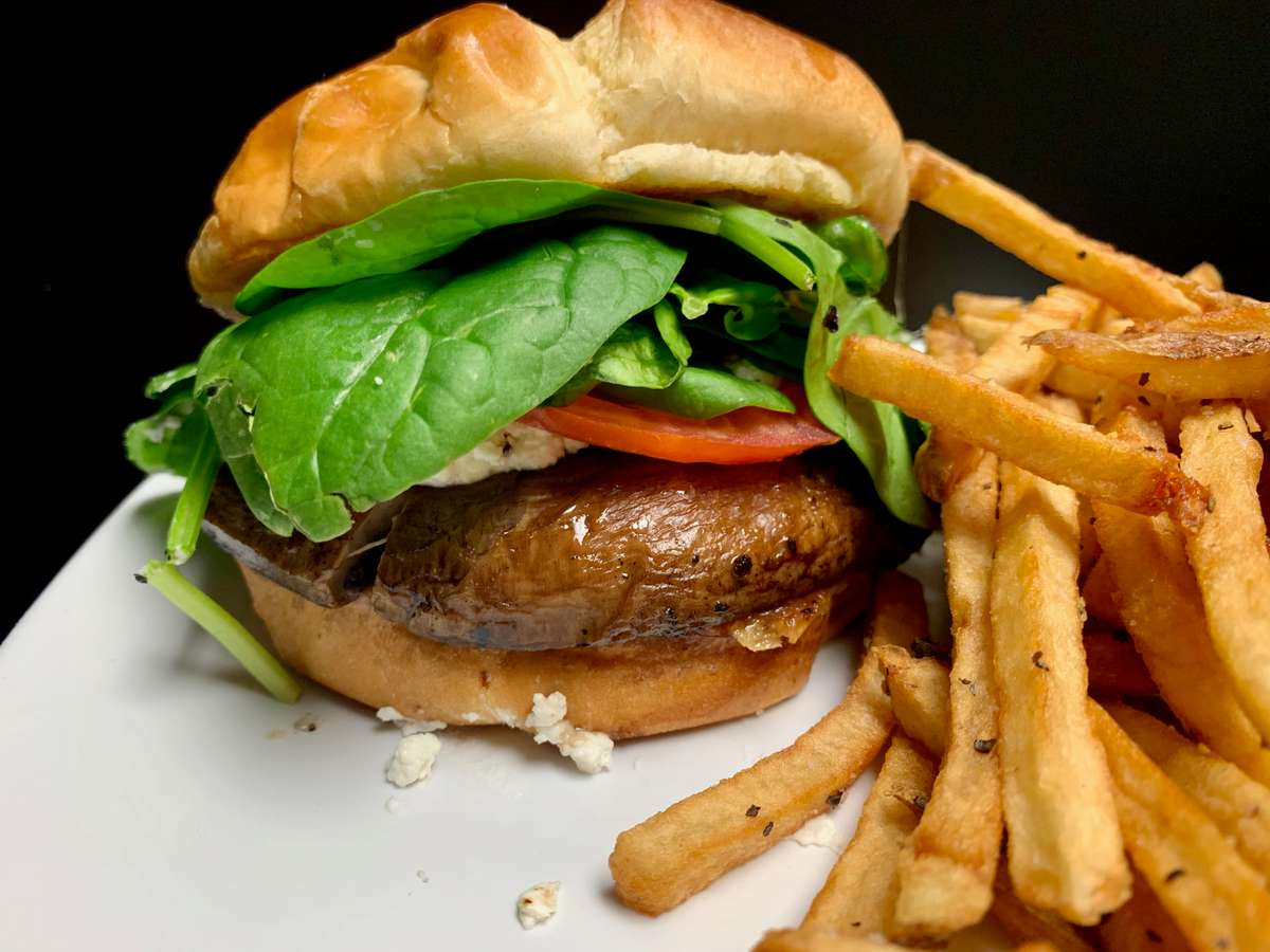 Grilled Portabella Burger