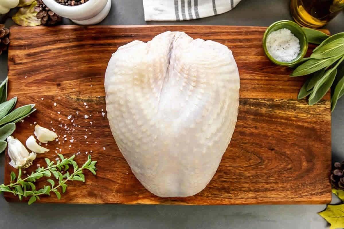 Turkey Breast bone in
