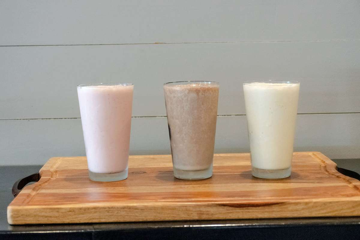 Hand Scooped Shakes