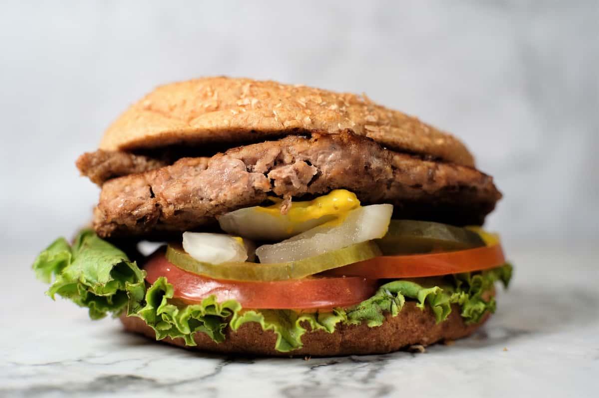 #4 US Turkey Burger