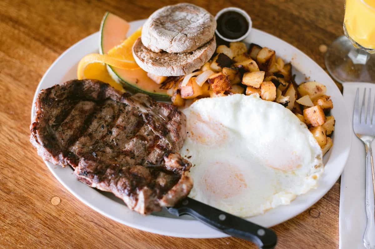 Ribeye Steak 'n Eggs
