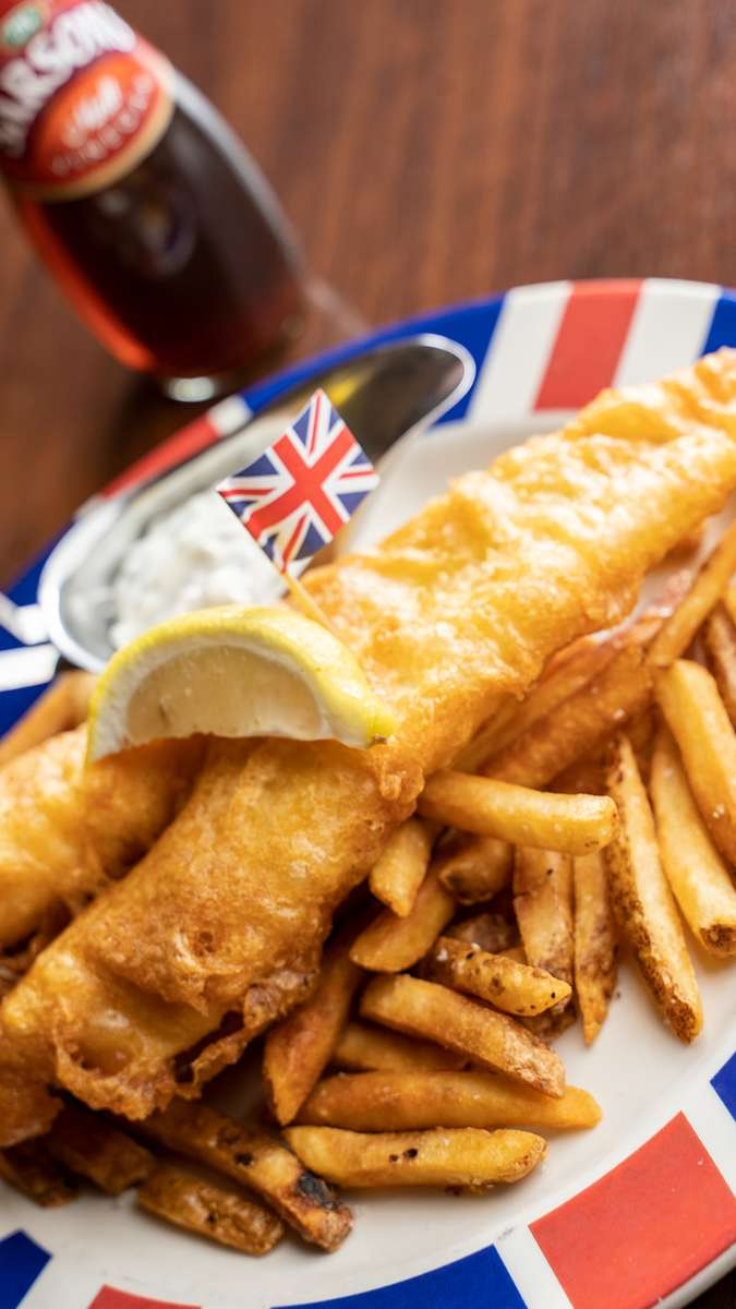 "British ""Beer"" Fish & Chips"