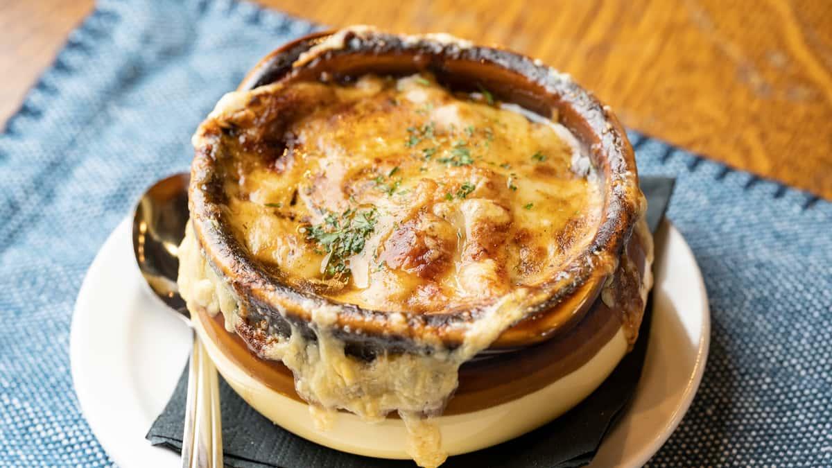 French Onion & Stout Soup