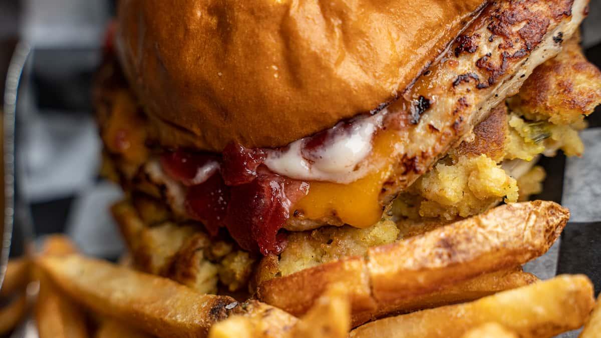 Earl of Sandwich Turkey Burger