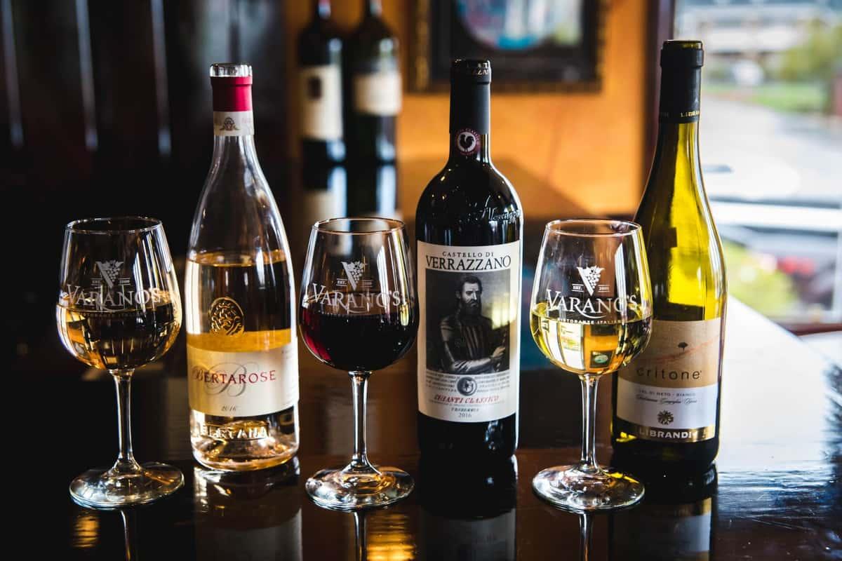 assorted wines