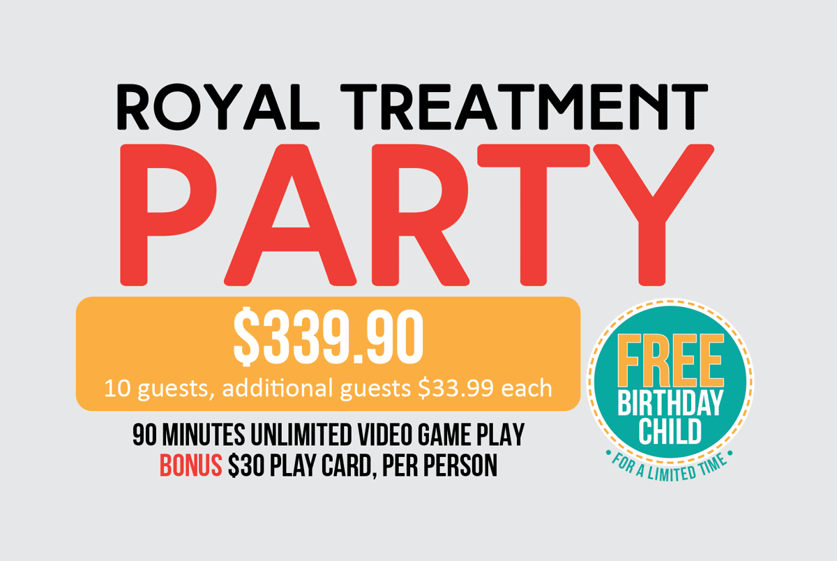 Royal Treatment Party Package