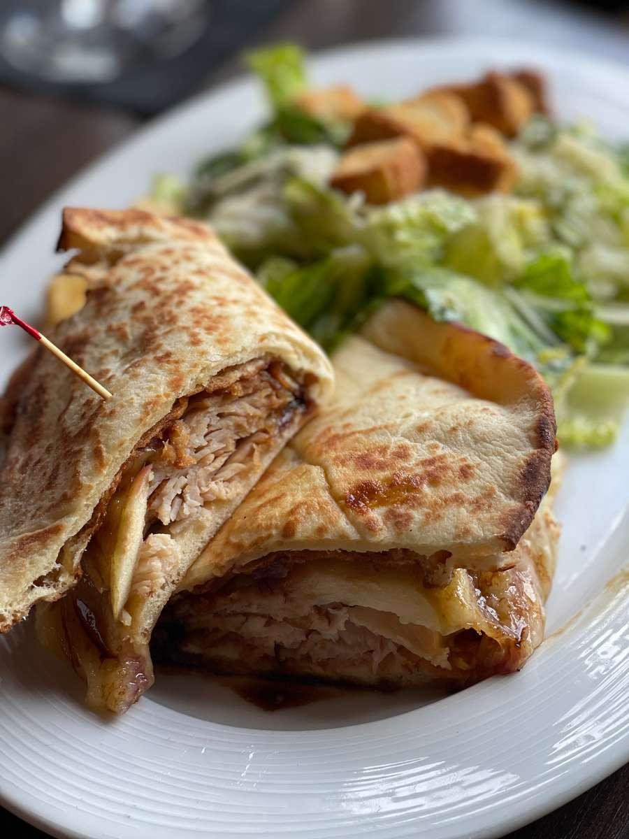 Grilled Naan Turkey