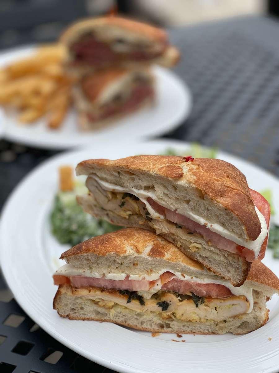 Capri Chicken Sandwich