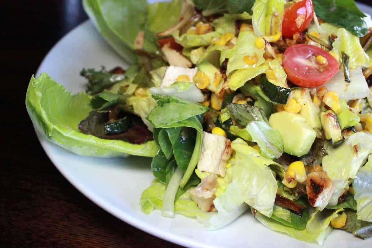 Lime-Marinated Chicken Salad