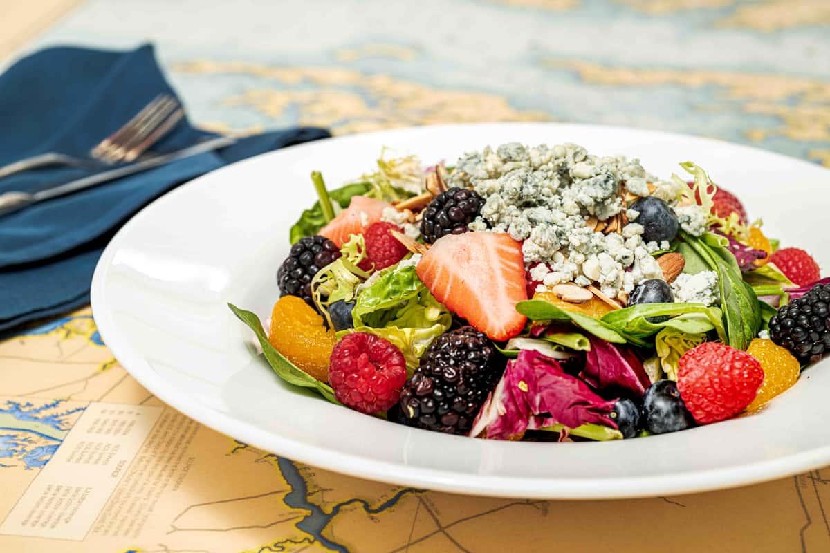 Fresh Summer Berry Salad