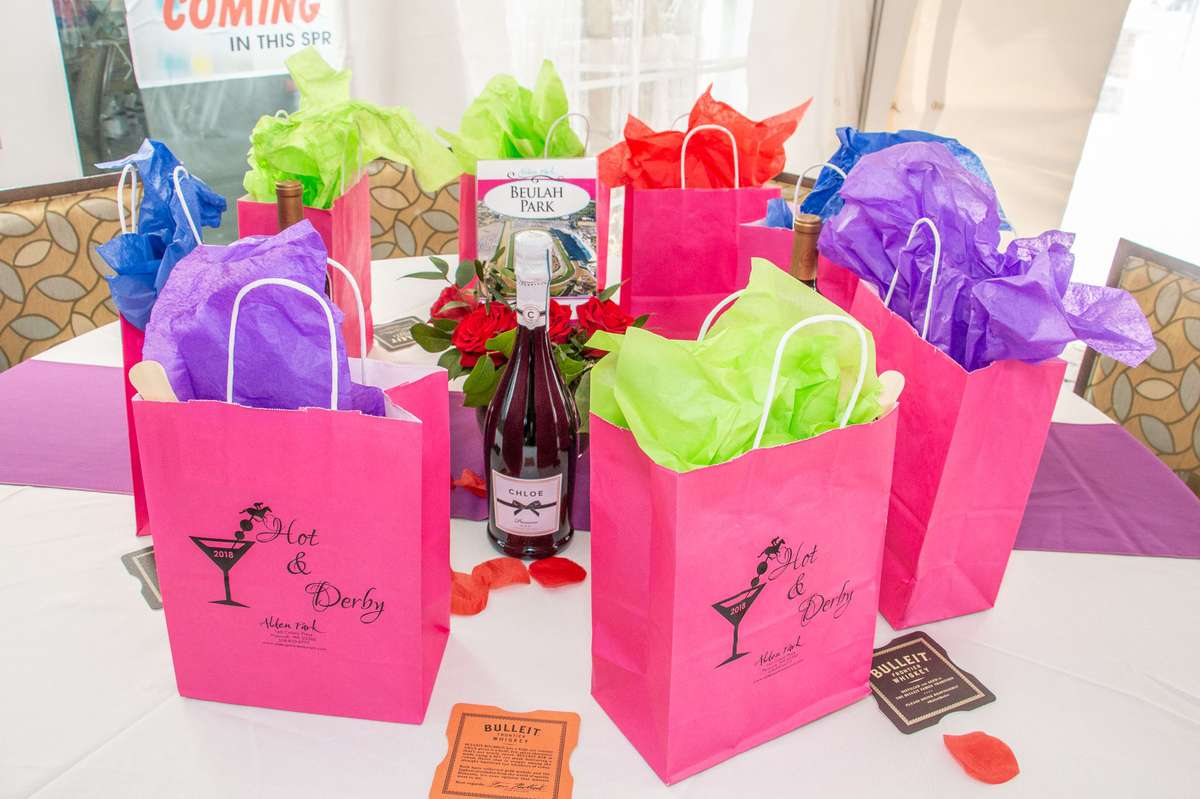 bags at a function