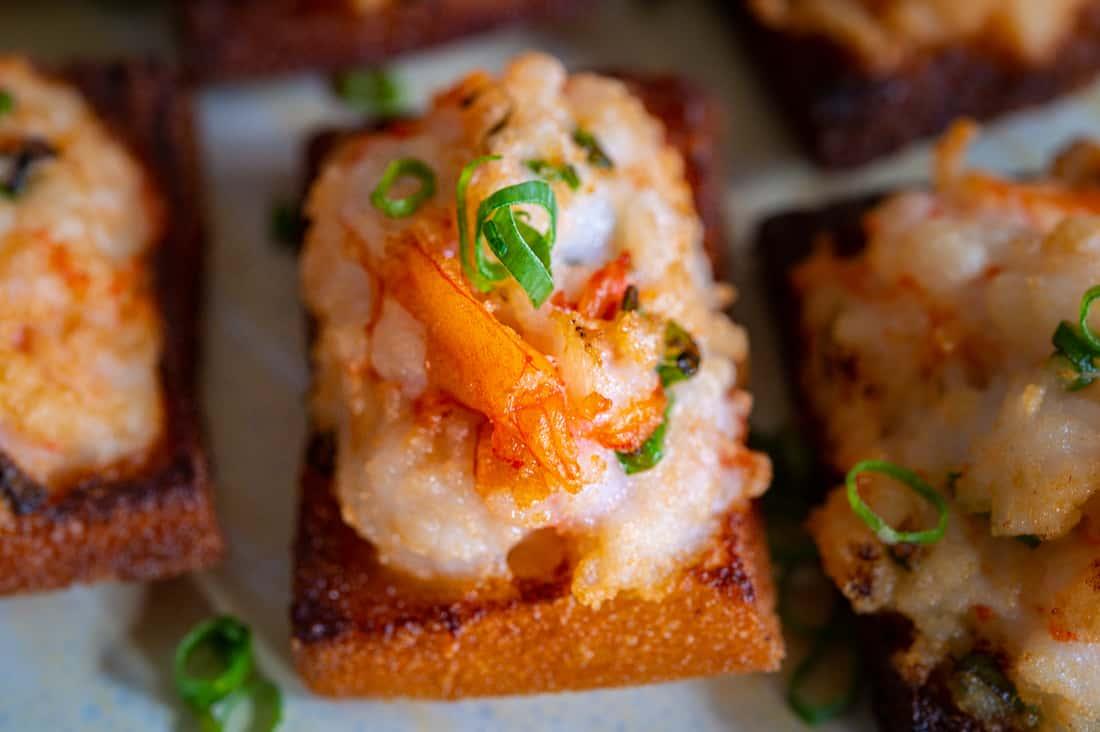 Shrimp Toast (2 pcs per order)
