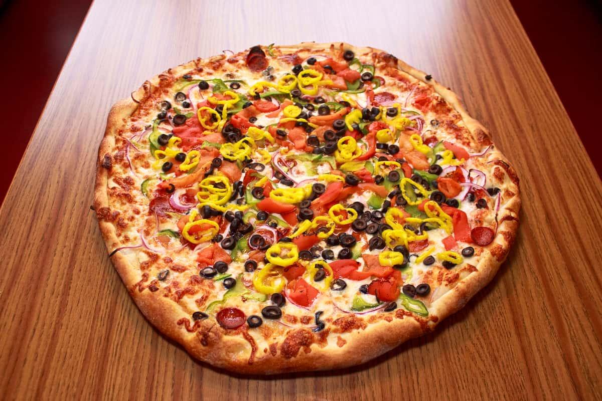 24.95 1 Large Pizza & 1 Dozen Wings