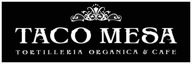 Taco Mesa Tortilleria Organica and Cafe Logo