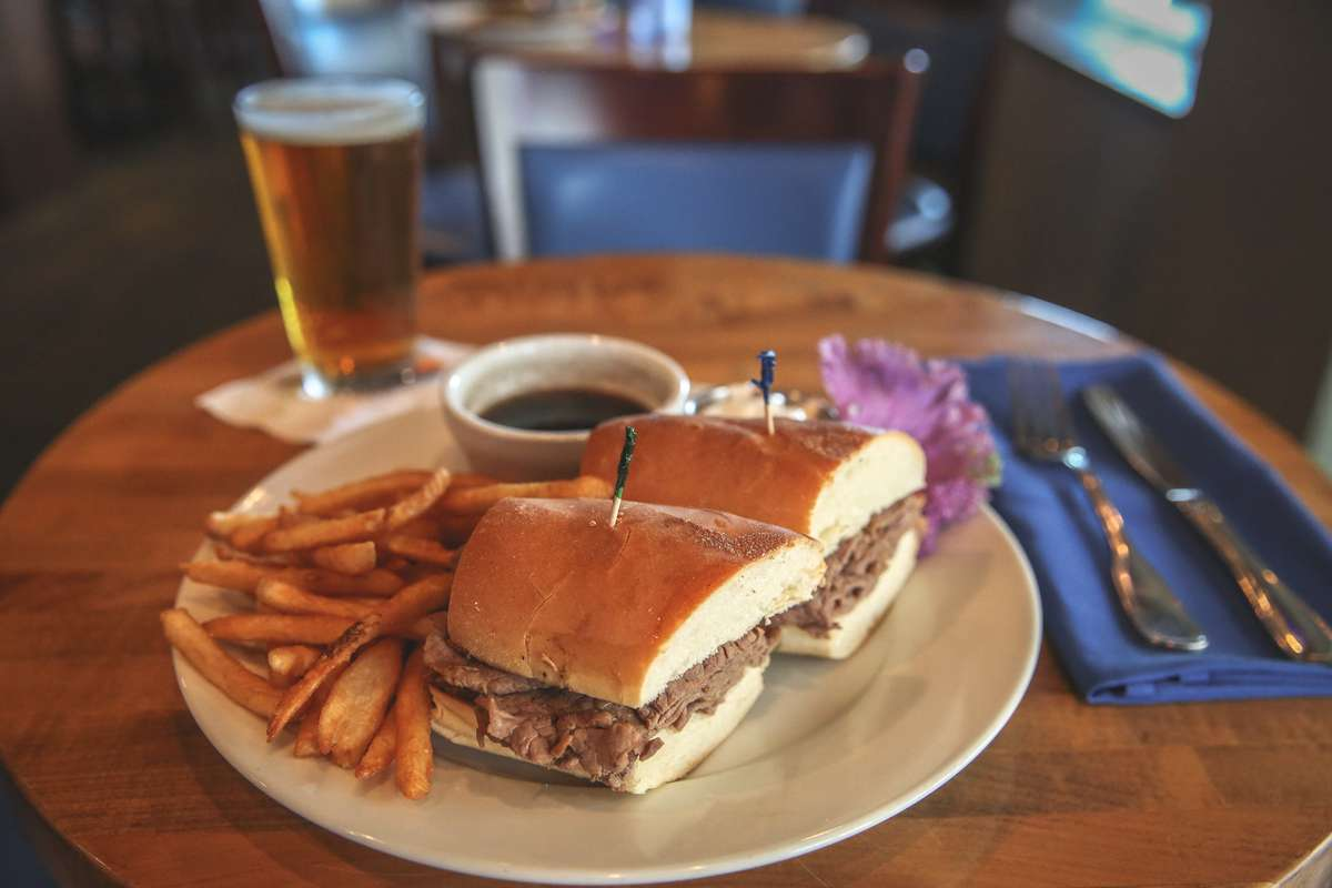 Classic French Dip Sandwich