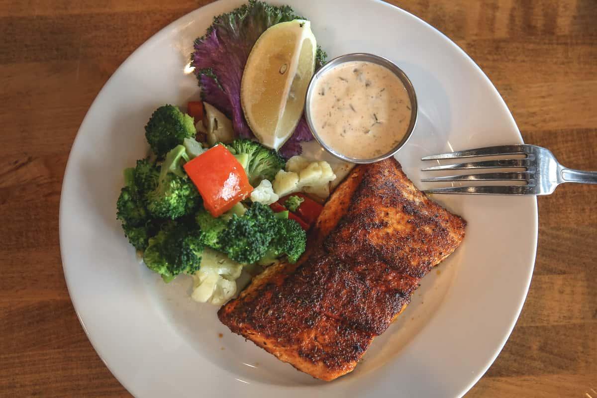 Herb-Crusted Salmon