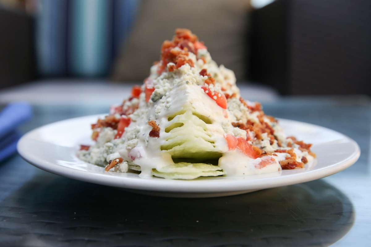 "The ""Wedge"" Salad"