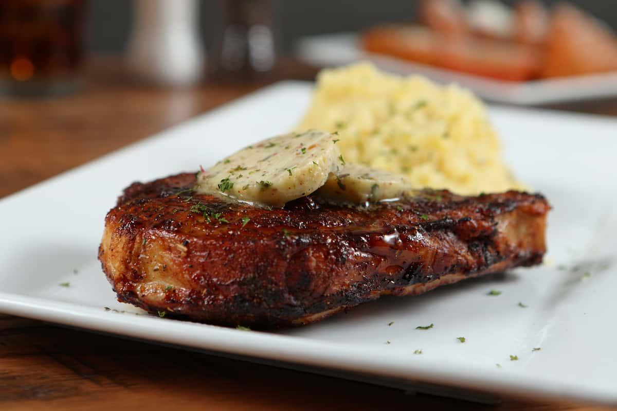 """Our """"FAMOUS"""" Berkshire Pork Chop* 12 oz."""