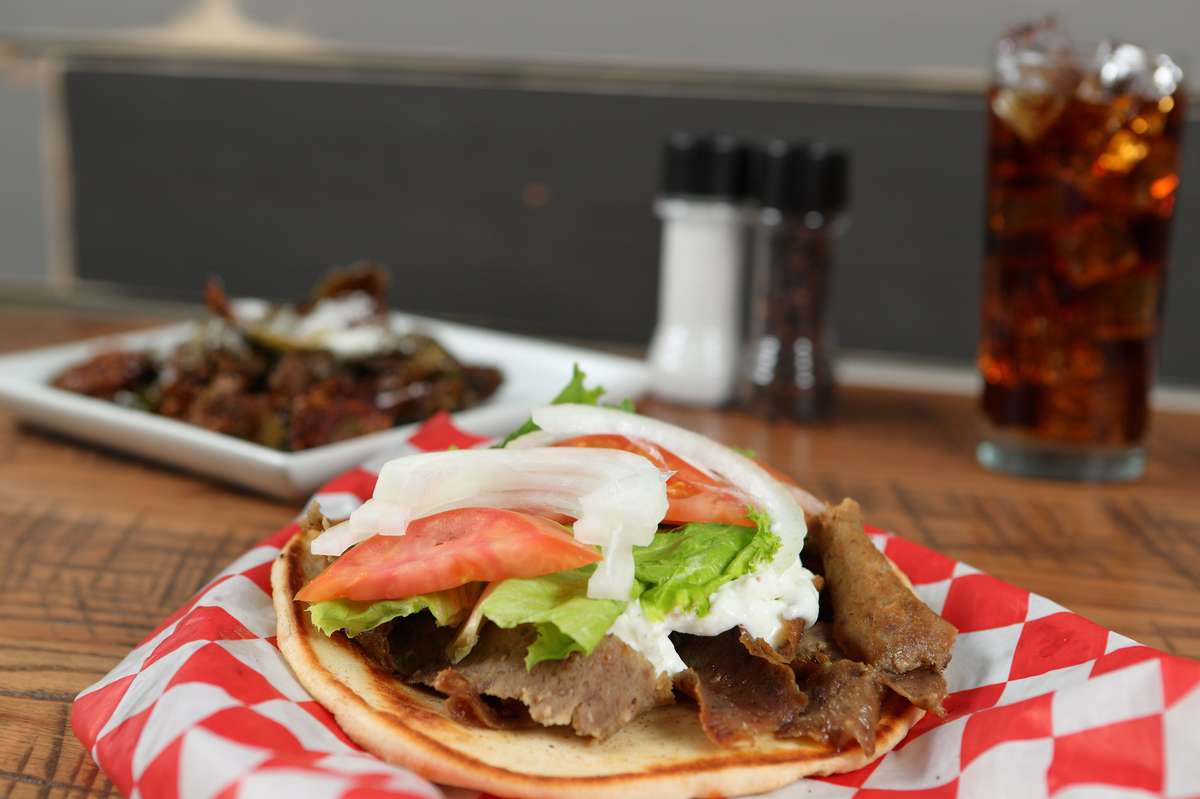 """Our """"FAMOUS"""" Gyro"""