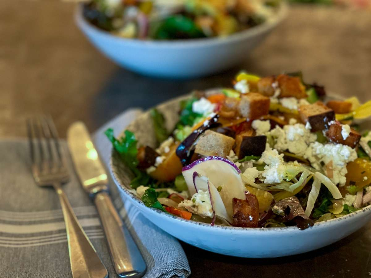 Blackboard Salad