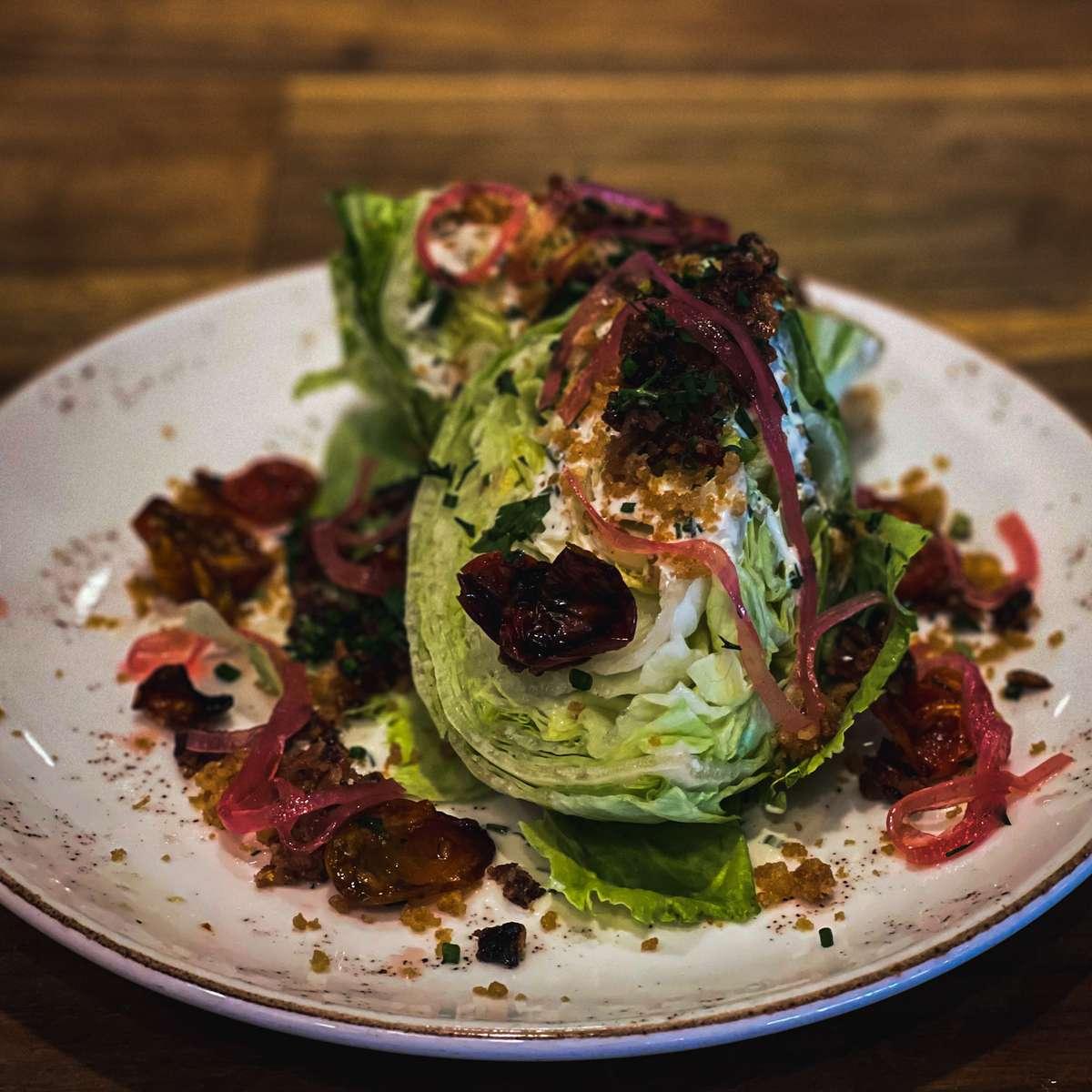 Organic Baby Iceberg Salad