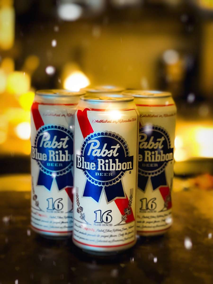 Round of PBR Tallboys for the Kitchen
