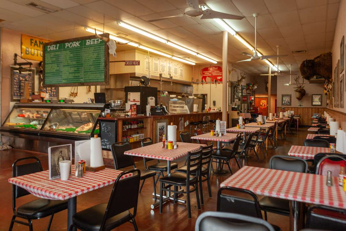 Ye Ole Butcher Shop Dining Area