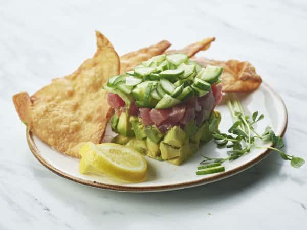 Tuna Tartate Catering