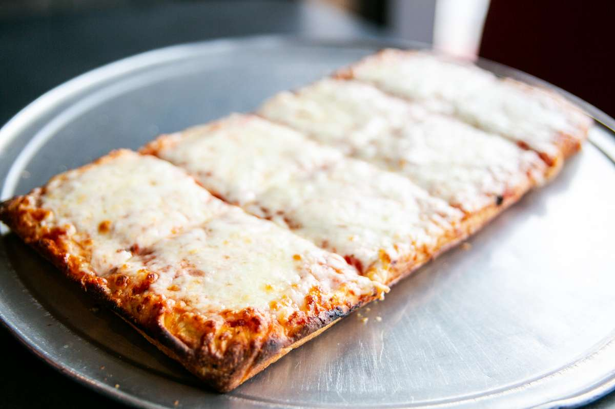 Half Sicilian Cheese Pizza