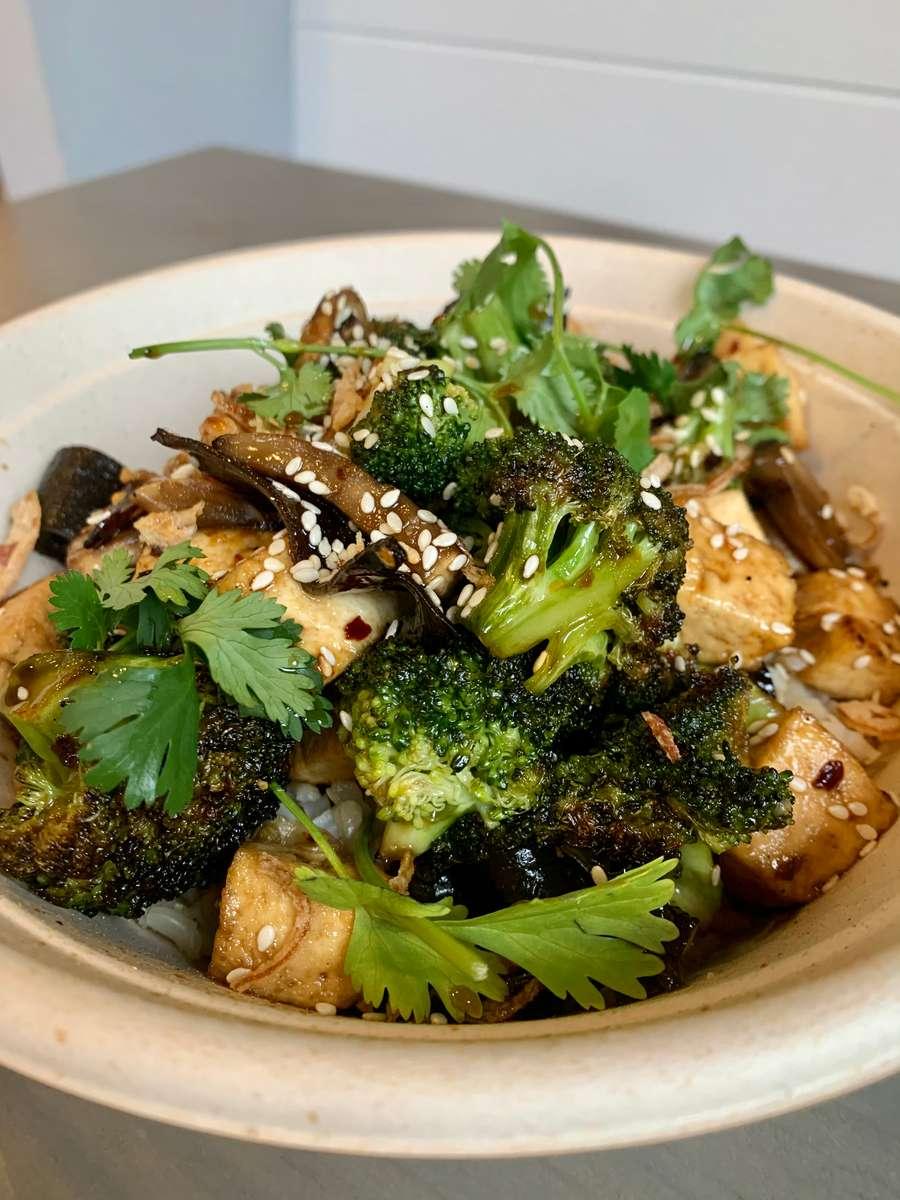 Sichuan Broccoli + Tofu