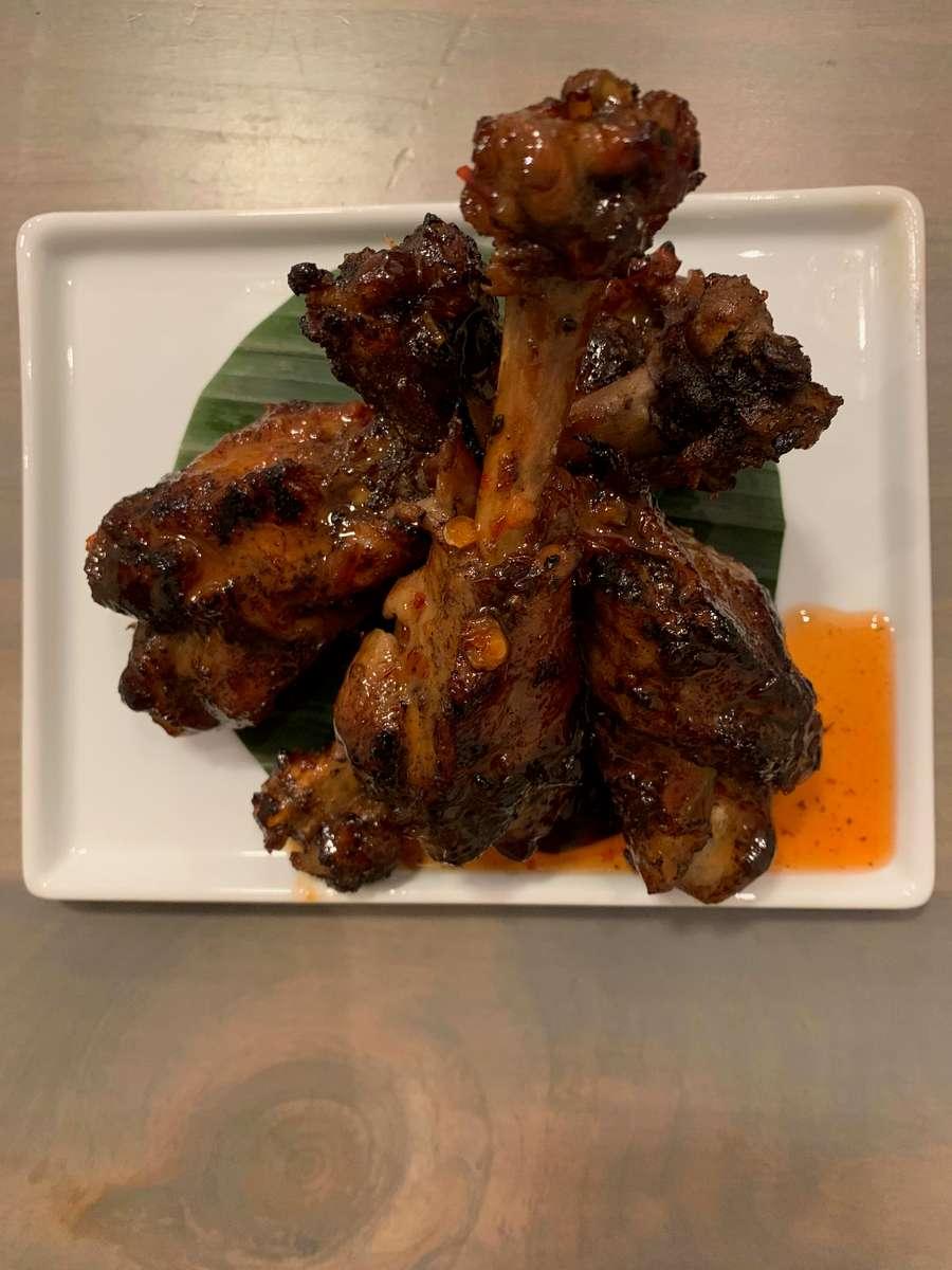 Smoked Chili Duck Wings