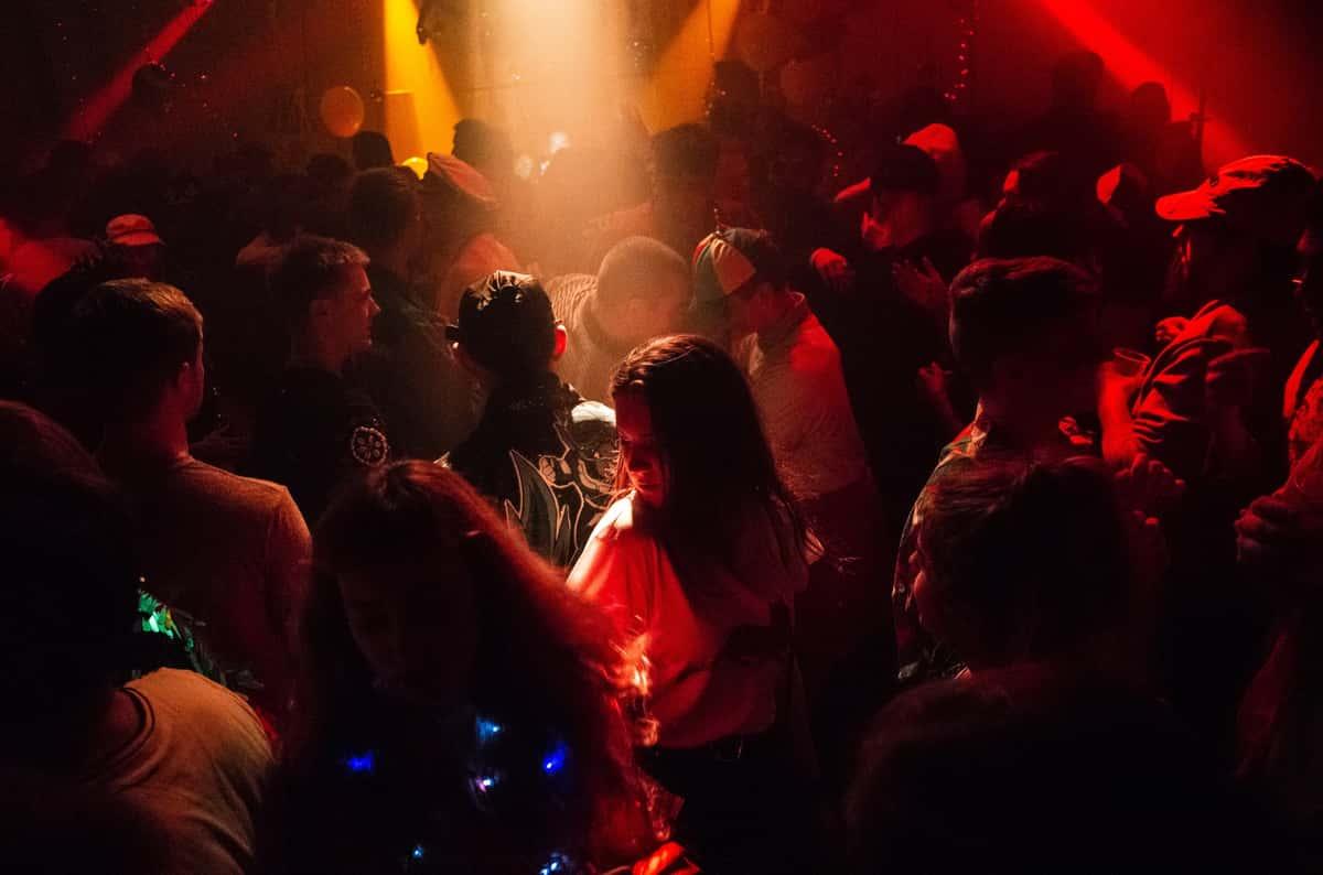 Crowded club