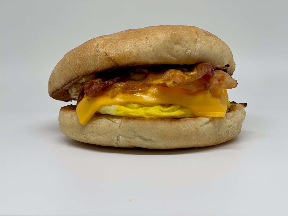 Two Eggs on Constanzo's Hard Roll