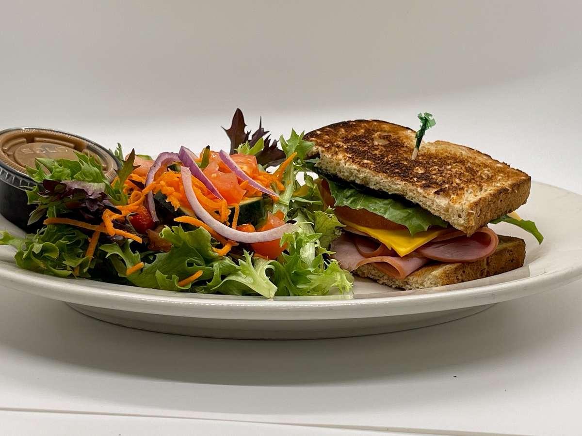1/2 Deli Sandwich + 1/2 Salad