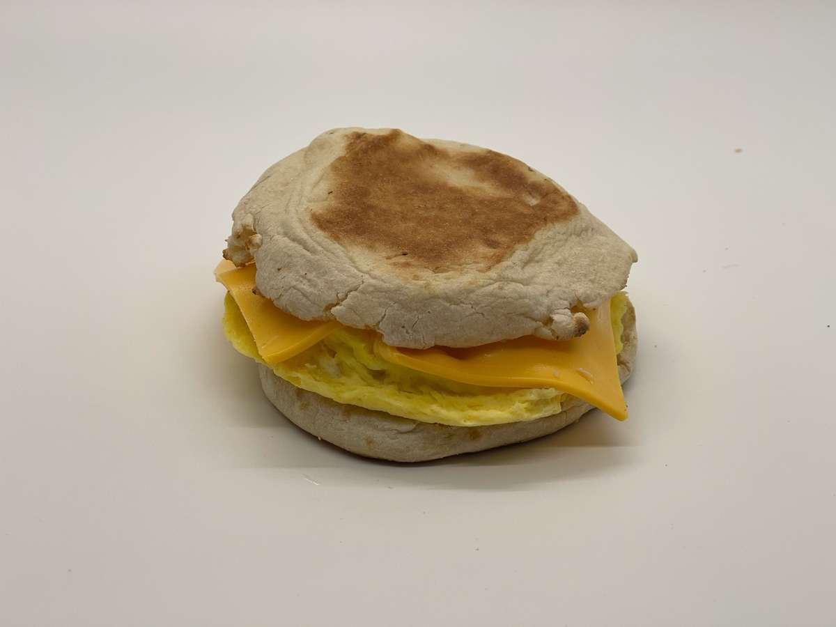 One Egg on English Muffin