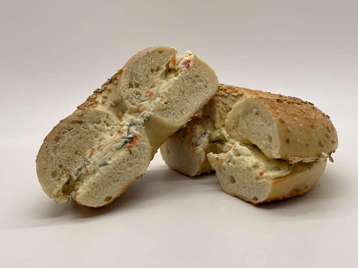 Bagel with Specialty Cream Cheese